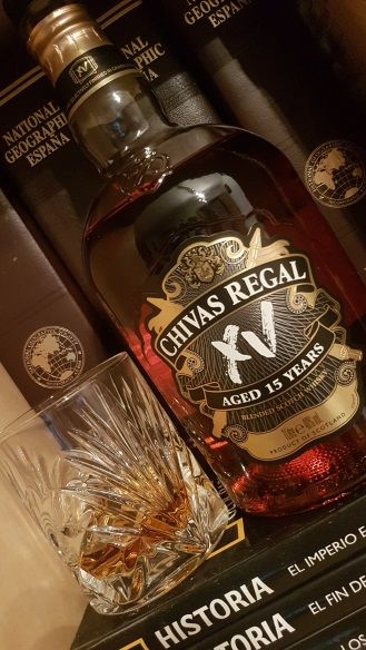 Chivas Regal XV en la noche de Burns en Whisky Club Madrid