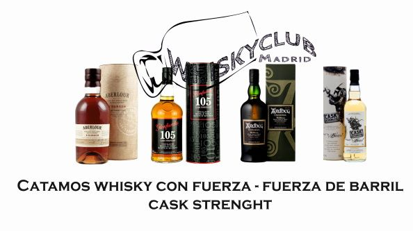 Catamos whisky con fuerza -whisky cask strenght